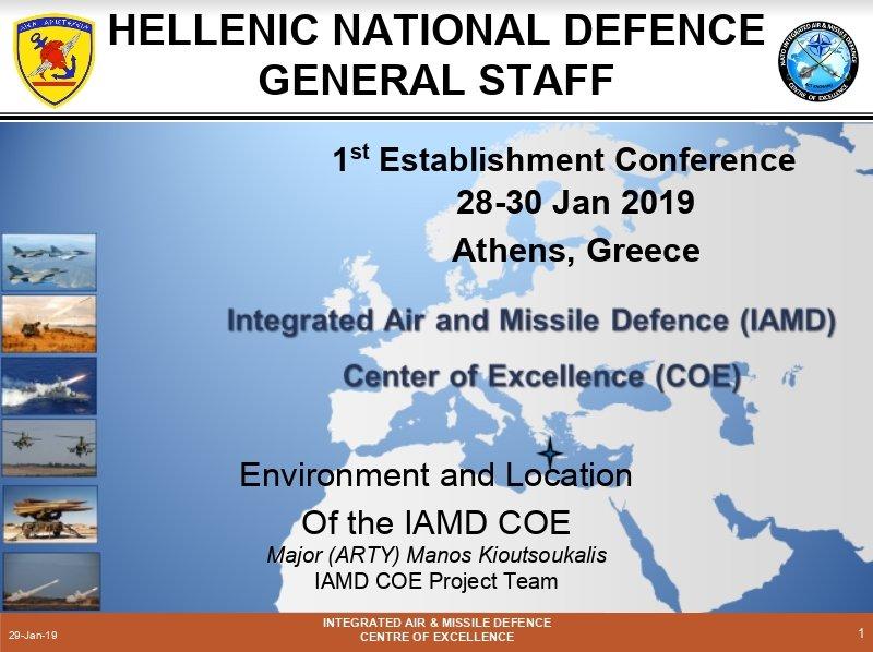NATO IAMD COE Location and Environment