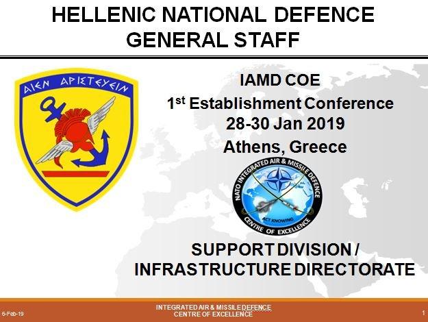NATO IAMD COE Facilities